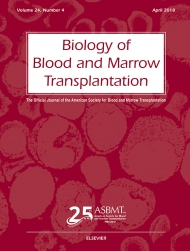 Biology of Blood and Marrow Transplantation